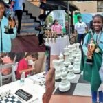 9 year old Nigerian gold medalist, Deborah Quickpen now Africa's Youth Chess Champion